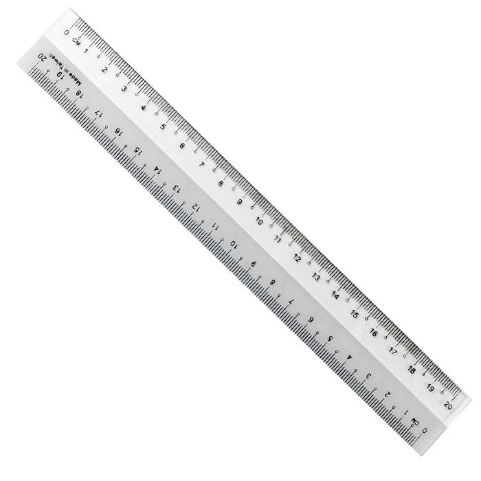 Plastic Ruler 8 Inch