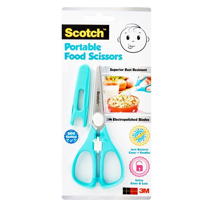 3M Scotch Portable Food Scissors PS-AB