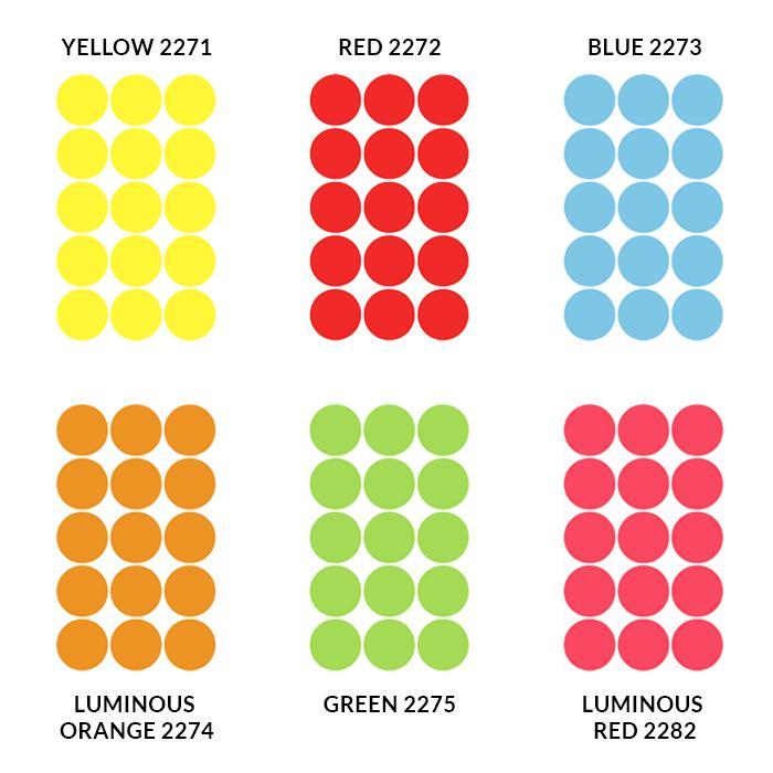 HERMA Adhesive Round Labels 32mm