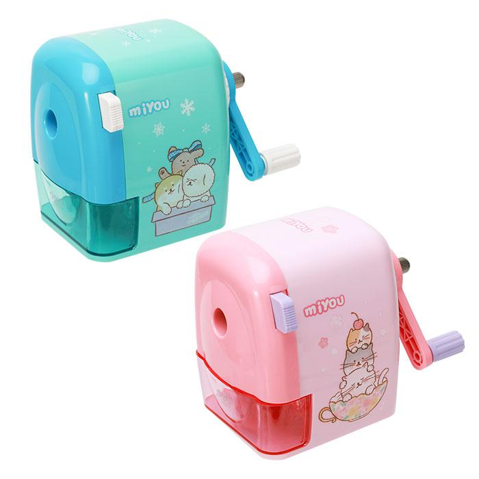 Deli Rotary Sharpener Suit for Jumbo and Normal Size Pencil E0629