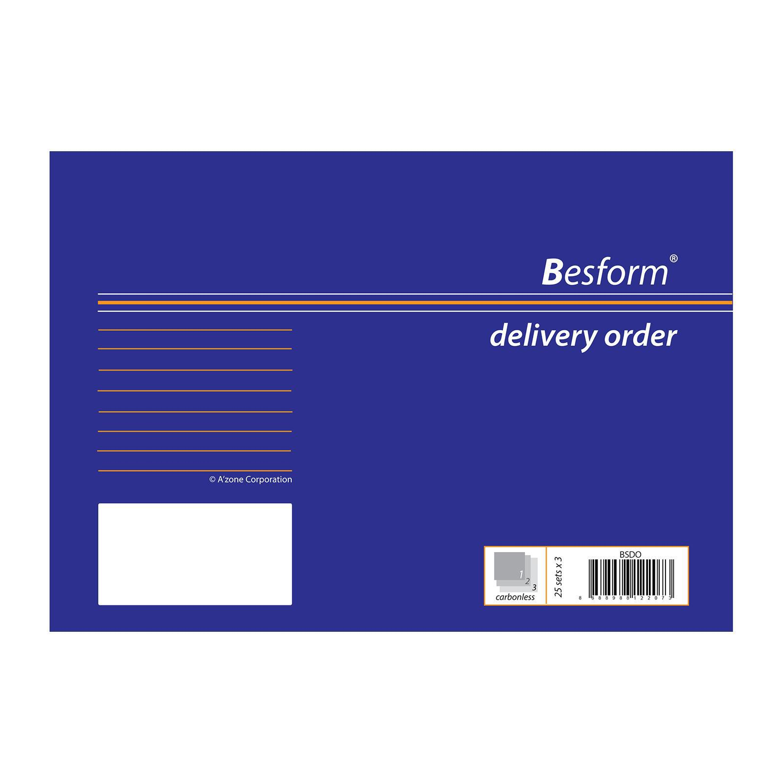 Besform Delivery Order 25 x 3 Ply
