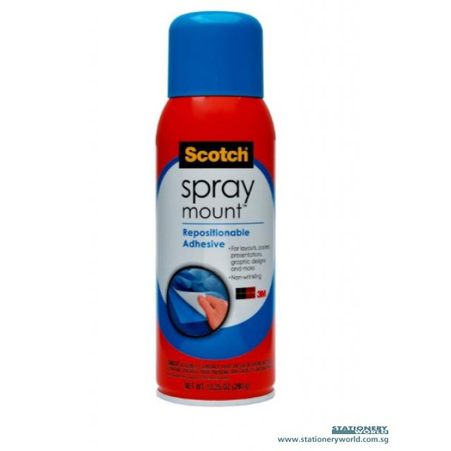 3M Repositionable Adhesive Spray Mount 6065