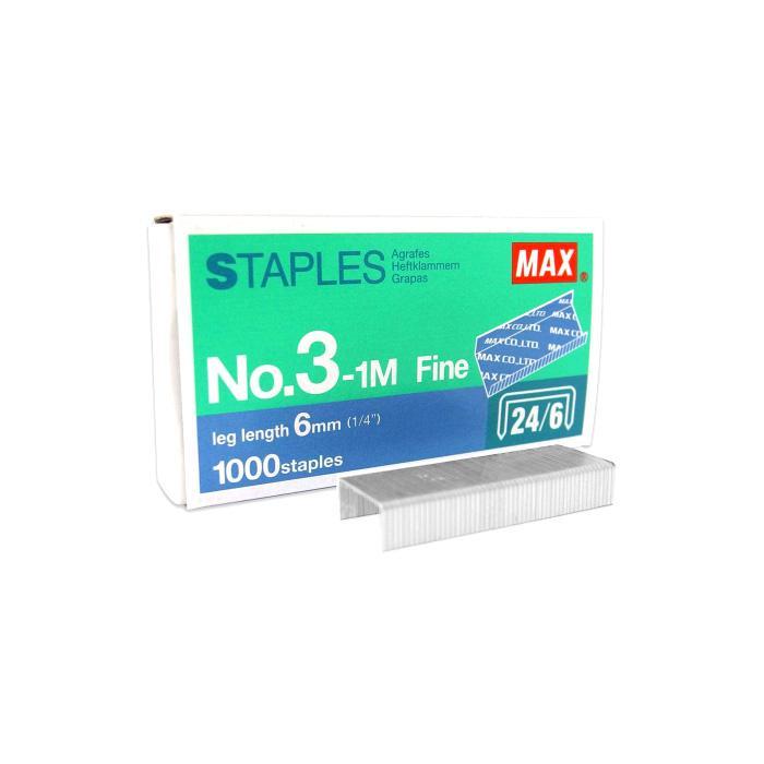 MAX Staples Refill No. 3-1M