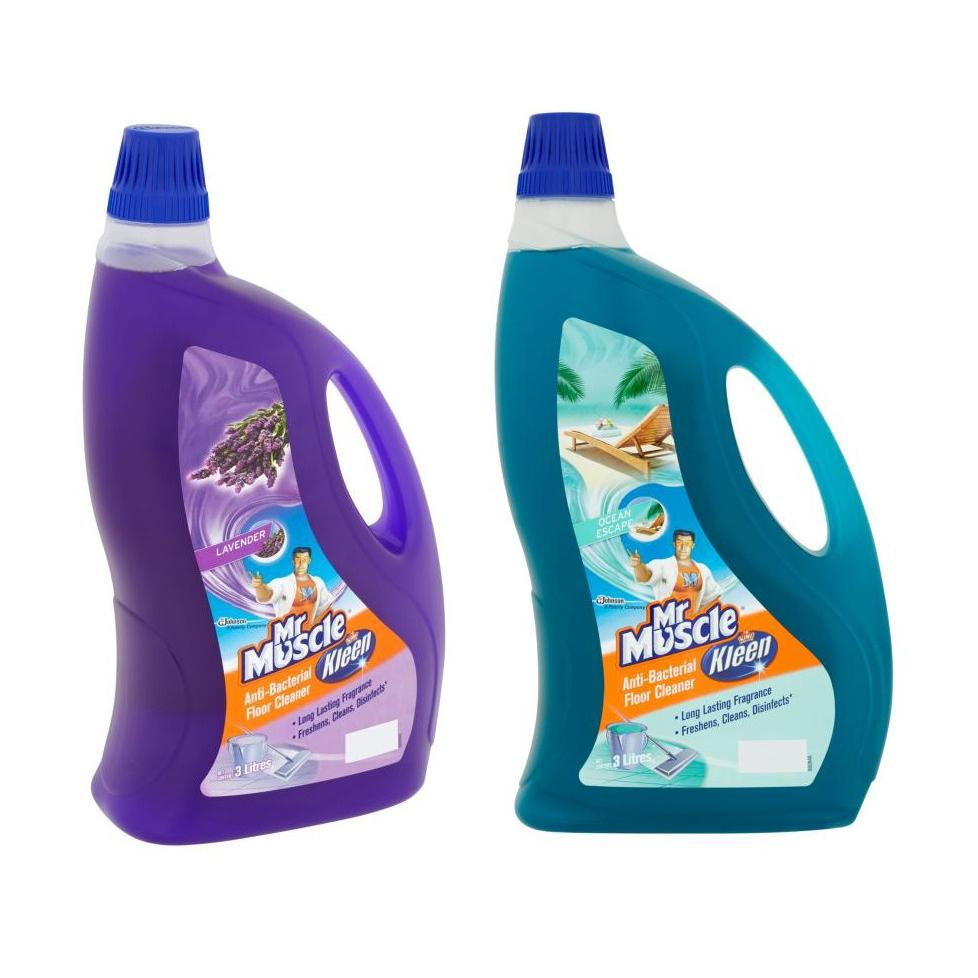 Mr Muscle Kiwi Kleen Floor Cleaner 3L