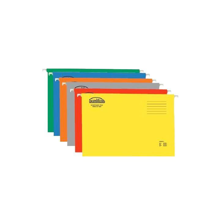 Suremark Suspension File Foolscap Size Pack of 25 SQ-9511