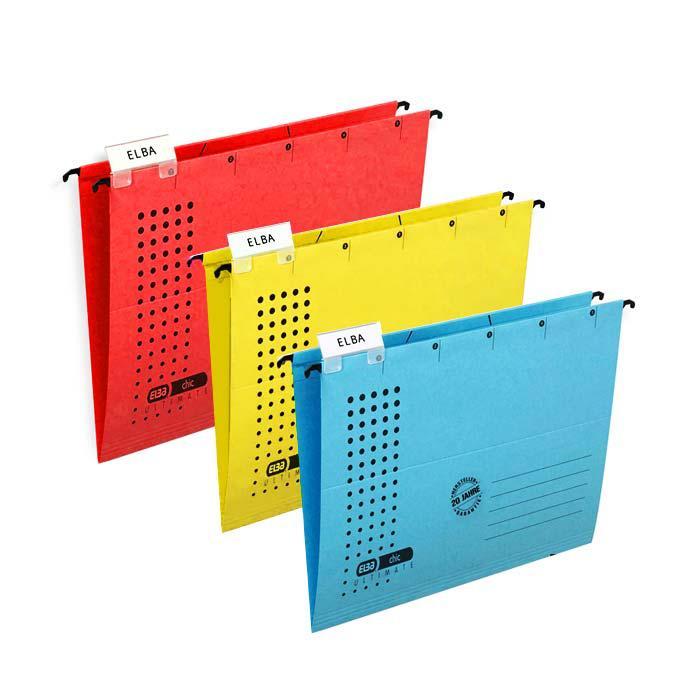 Elba Vertic 1000 Suspension File V Base Pack of 25 85740