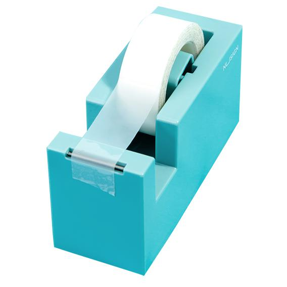 NuSign Tape Dispenser Light Blue NS121