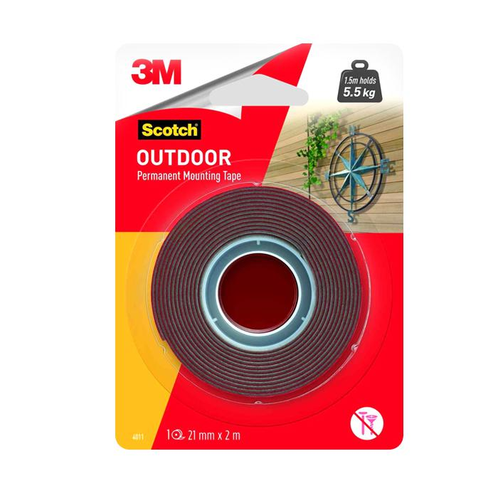 3M Outdoor Mounting Tape 21mm x 2M 4011-2M