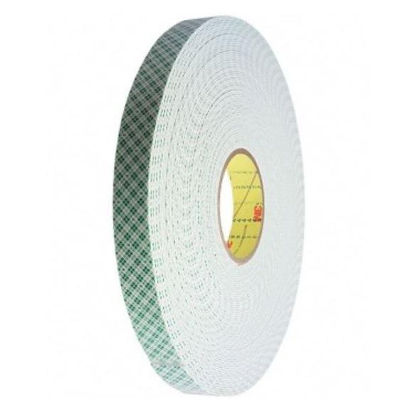 3M Double Coated Urethane Foam Tape 1/2 Inch 4026A