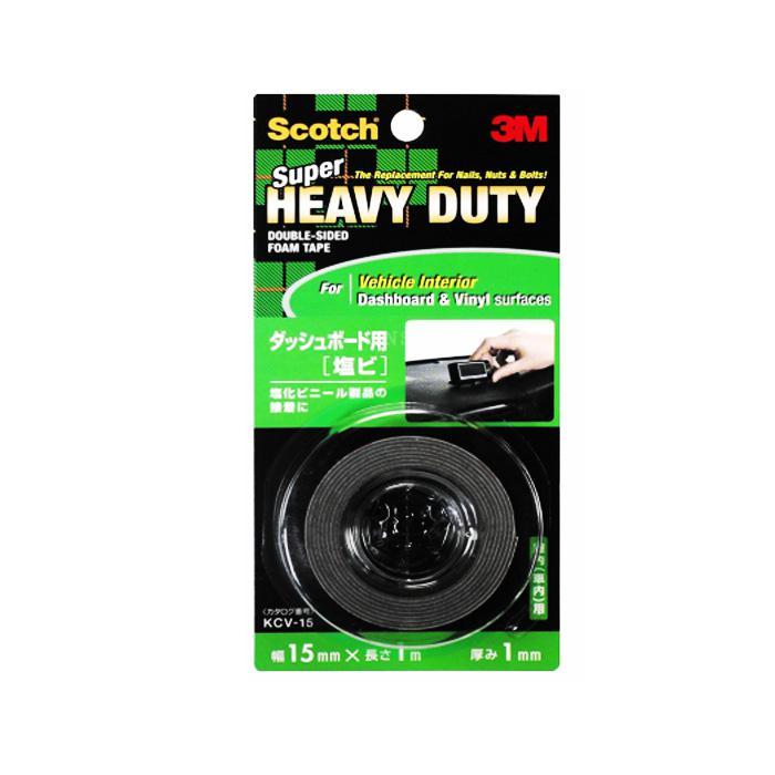 3M Scotch Heavy Duty Foam Mounting Tape for Interior Dashboard KCV15