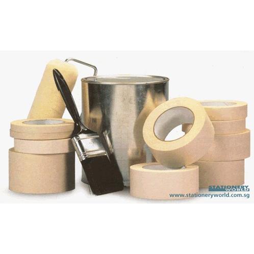 Kramo/Jumbo Masking Tape 1 Inch x 22 Yards (24mm)