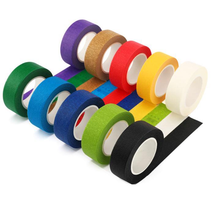 Colour Masking Tape 25mm x 15m x 1 Inch Core 10 Rolls