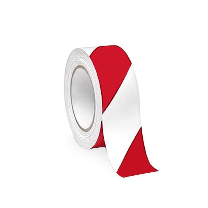 Floor Marking Tape 48mm x 30m Red White