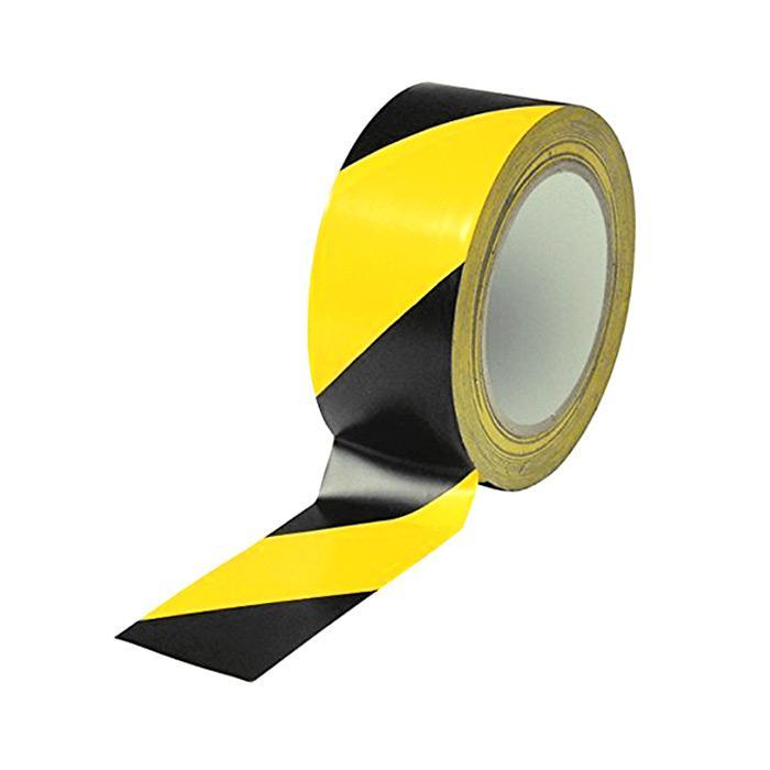 Floor Marking Tape 48mm x 30m Yellow Black