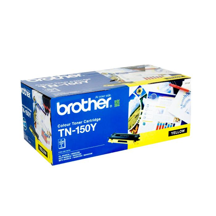 Brother Colour Toner Cartridge Yellow TN-150Y