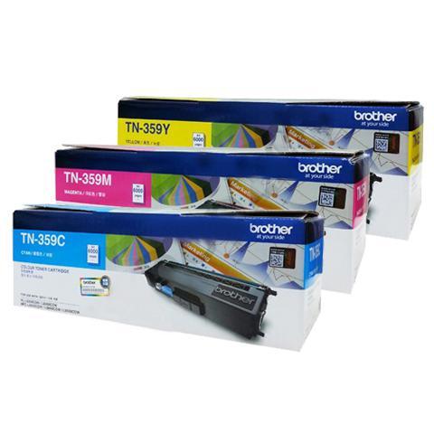 Brother Colour Toner Cartridge TN-359C/TN-359M/TN-359Y