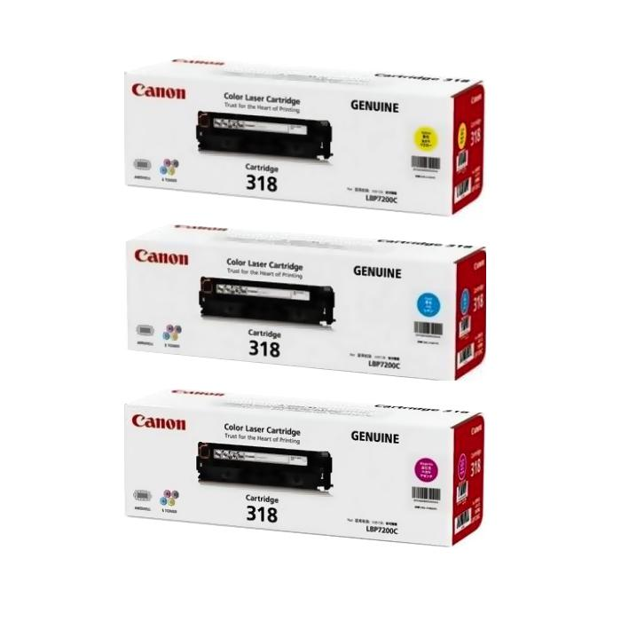 Canon Colour Toner Cartridge 318