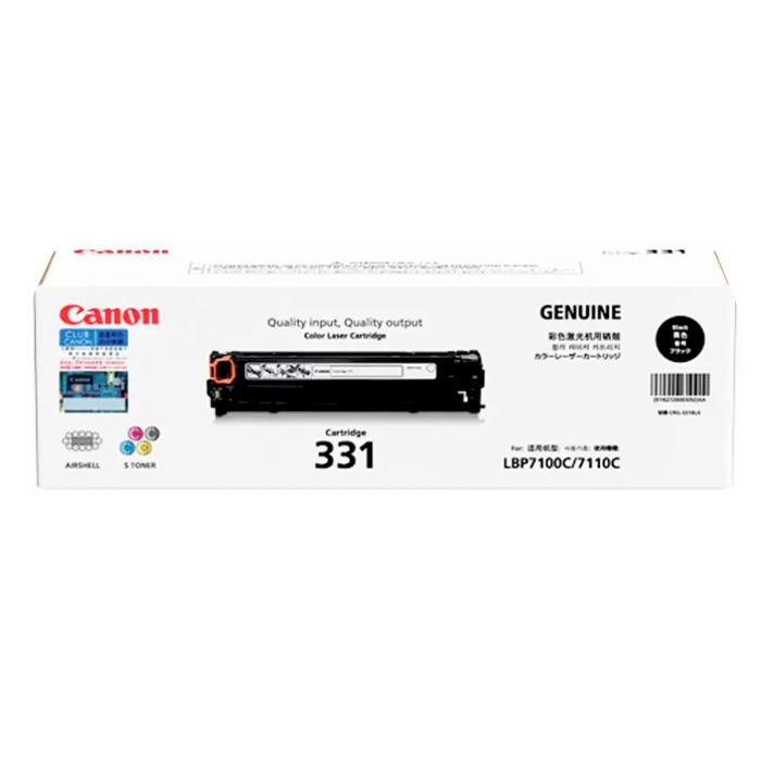 Canon Black Toner Cartridge 331BK