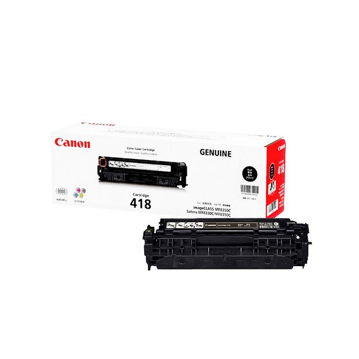 Canon Black Toner Cartridge 418BK
