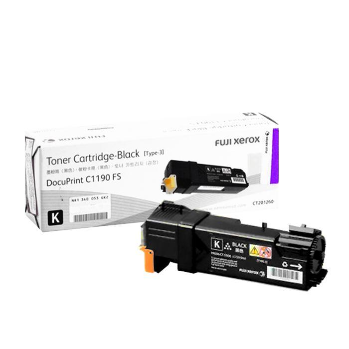 Fuji Xerox Black Toner Cartridge CT-201260