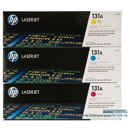 HP 131A Colour Original LaserJet Toner Cartridge CF211A/CF212A/CF213A