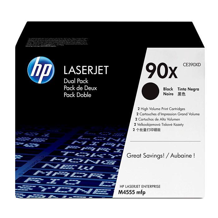 HP 90X Black Original LaserJet Toner Cartridge CE390X