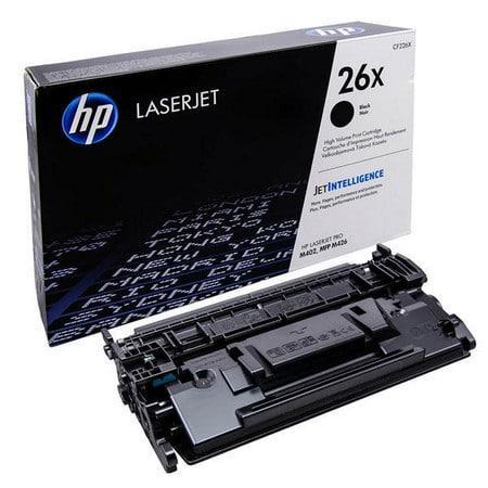 HP 26X Black Original LaserJet Toner Cartridge CF226X