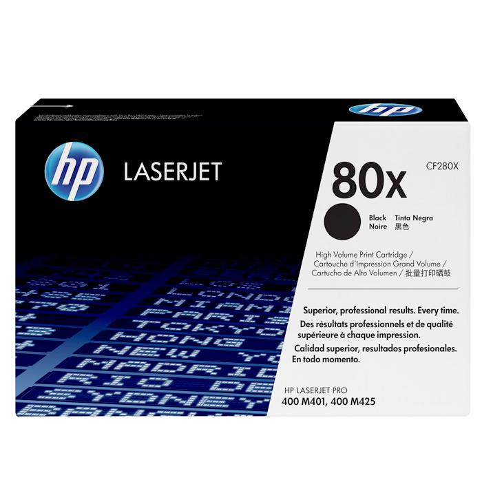 HP 80X Black Original LaserJet Toner Cartridge CF280X
