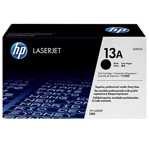 HP 13A Black Original LaserJet Toner Cartridge Q2613A