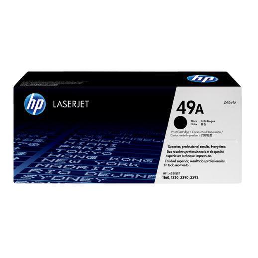 HP 49A Black Original LaserJet Toner Cartridge Q5949A