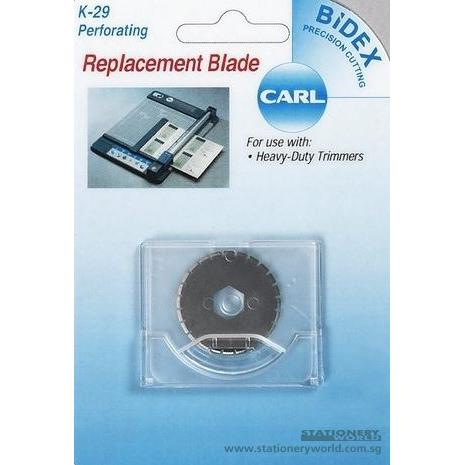 Carl Replacement Perforation Blade K-29