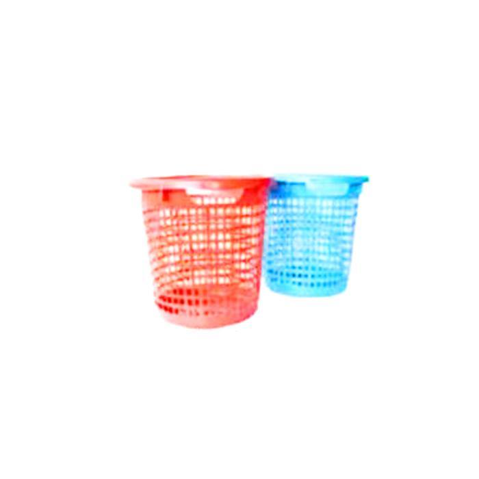 Plastic Waste Rubbish Trash Bin Basket