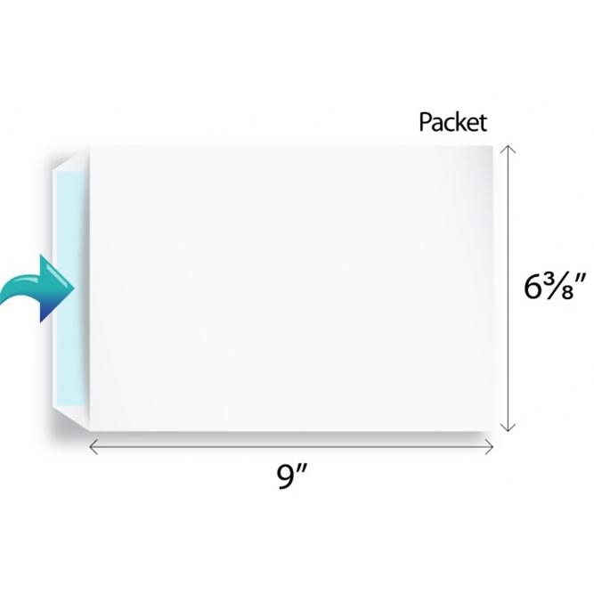 White Envelope 6.38 x 9 Inch (Pack of 10)
