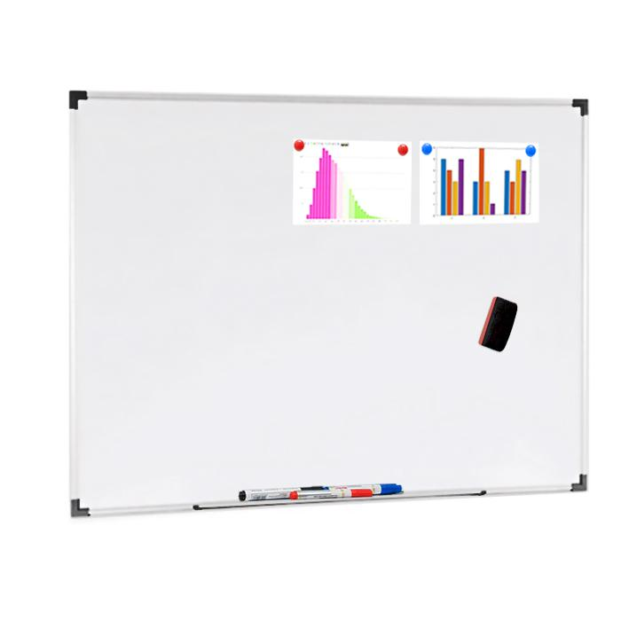 Wall Mounted Whiteboard 90 x 120cm (3 x 4 Foot)