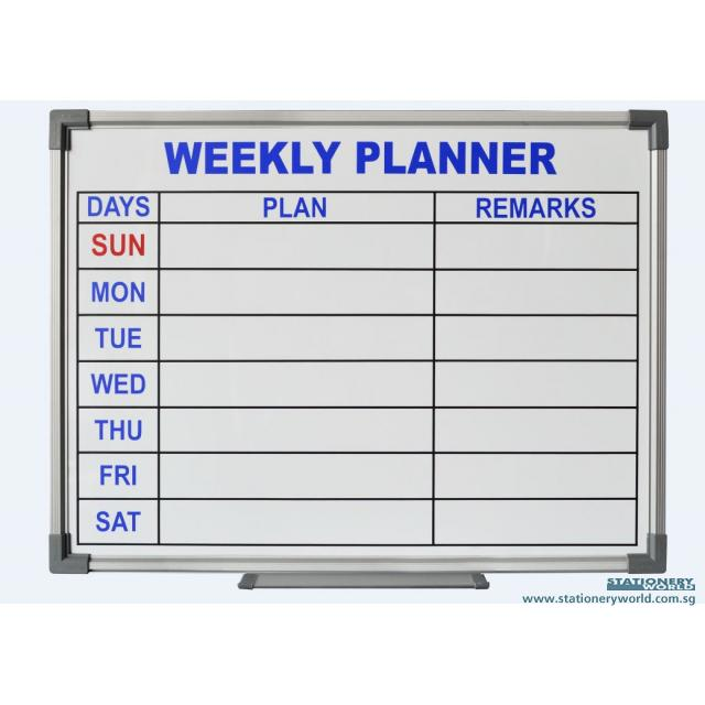 Weekly Planner Whiteboard CWP15
