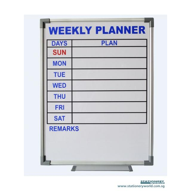 Weekly Planner Whiteboard CWP51