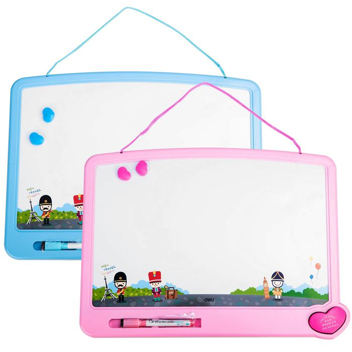 Deli Kids Children White Board 7806