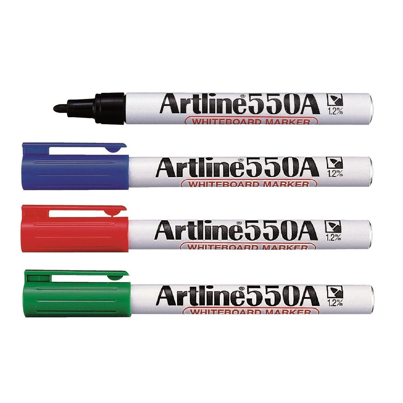 Artline 550A Whiteboard Marker 1.2mm