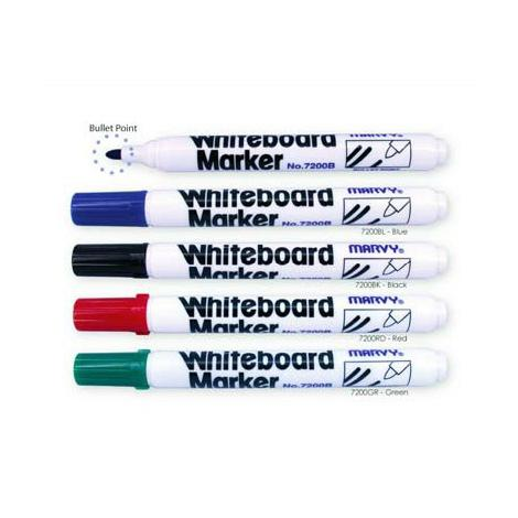 Marvy Whiteboard Marker 7200B/7222B