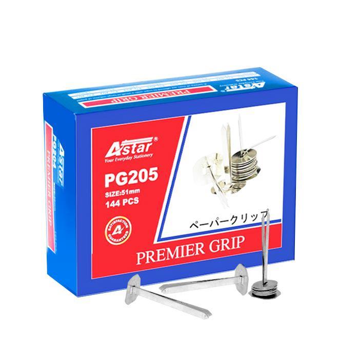 Astar Premier Binder Grip Fastener with Washer 51mm 144 Pcs PG-205