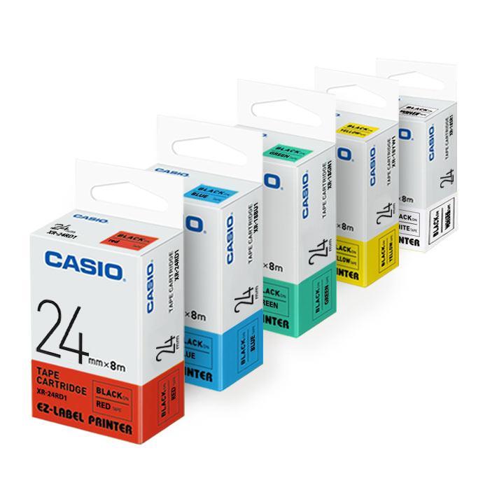 Casio EZ Label Printer Tape Cartridge 24mm XR-24