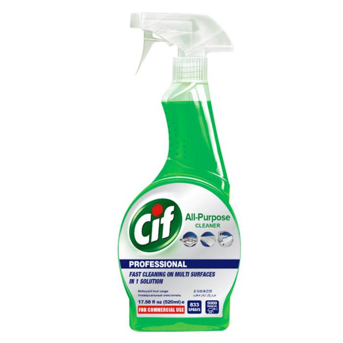 Cif All Purpose Cleaner Spray 520ml P002560