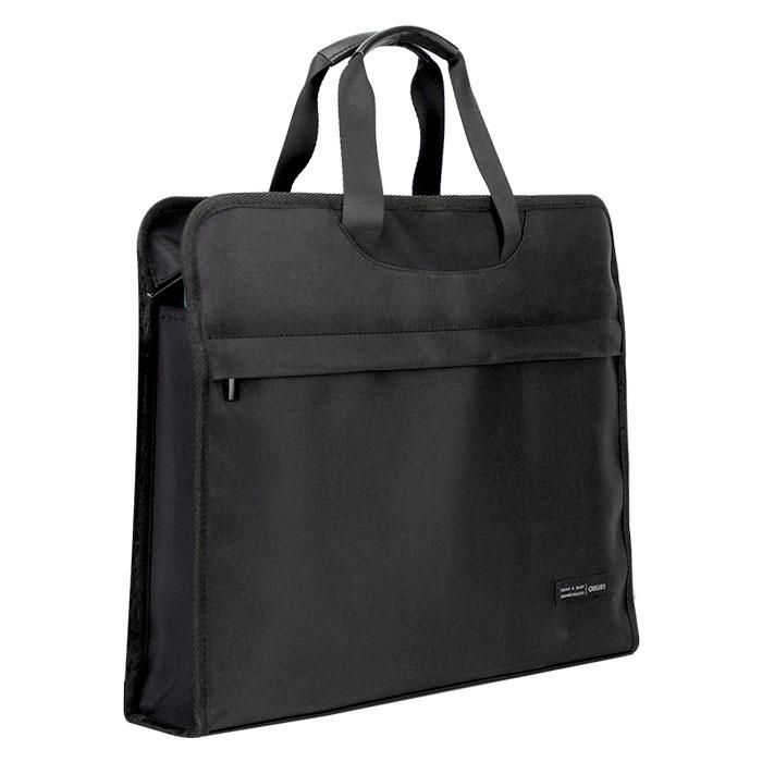 Deli Briefcase Tote Bag Black 40 x30cm 63754