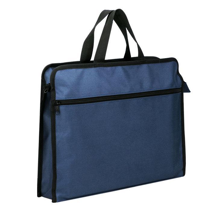 Deli Briefcase Tote Bag Blue 40 x 30cm 63753