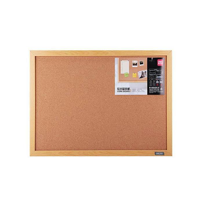 Deli Cork Notice Board with Wooden Frame 30 x 40 x 2cm 8761