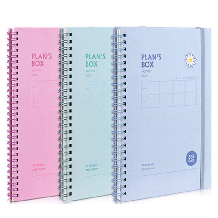 Deli Dotted Note Book B5 Size 60 Sheets 24201