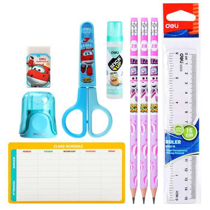 Deli Kids Stationery Gift Set Super Wing EH451