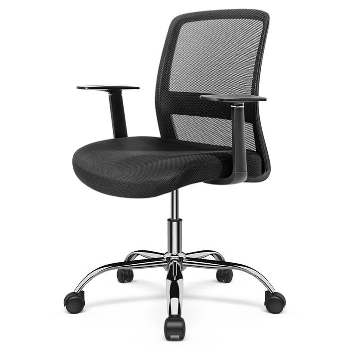 Deli Mid Back Mesh Office Chair with Arm Rest 87080S