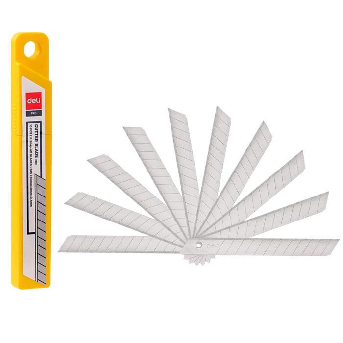 Deli Small Cutter Blade Tube of 10 Pcs E2012
