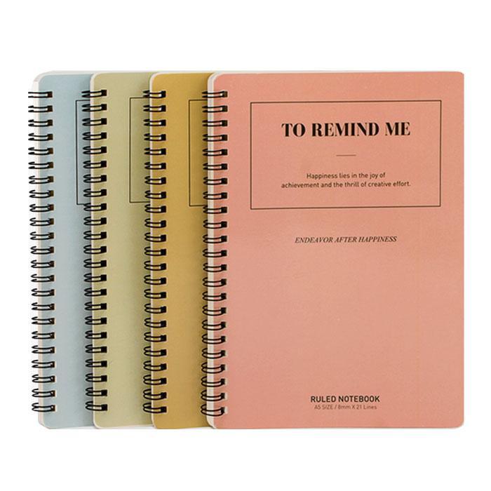 Deli Spiral Note Book A5 Size LA560-01
